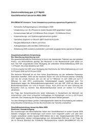Zwischenmitteilung 05.05.2009 - Ehlebracht AG