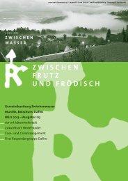 Gemeindezeitung März 2013 - Gemeinde Zwischenwasser