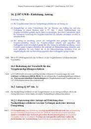 16. § 107 GWB - Einleitung, Antrag - Oeffentliche Auftraege