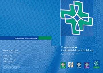 Konzernweite Innerbetriebliche Fortbildung - Misericordia GmbH ...