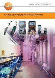 Der digitale Vorsprung für den Kältetechniker! - Testo