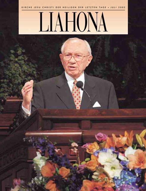 Juli 2002 Liahona - Kirche Jesu Christi der Heiligen der Letzten Tage