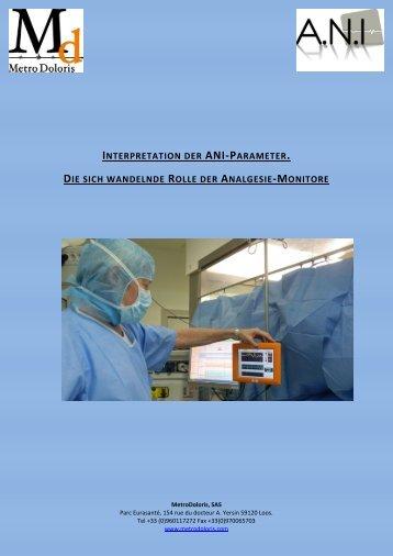 Interpretation des ANI Parameters - MetroDoloris