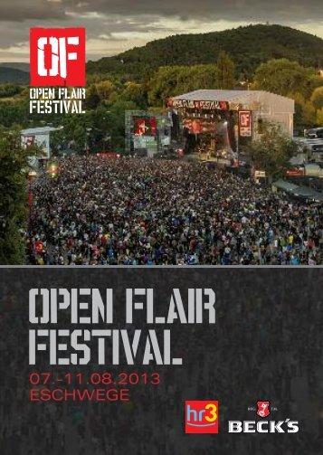 Programmheft 2013 herunterladen [PDF ~5 MB] - Open Flair