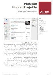 User Interface Projekte - Willert