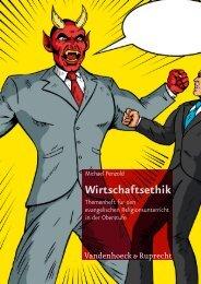 Wirtschaftsethik - Vandenhoeck & Ruprecht