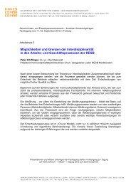 Möglichkeiten und Grenzen der Interdisziplinarität in den ... - Kokes