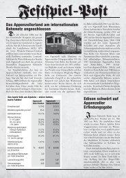 Geschichten und Fakten - Der Dreizehnte Ort.