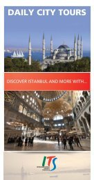 DAILY CITY TOURS - Istanbul Airport Transfer
