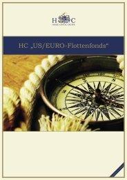 "HC ""US/EURO-Flottenfonds"" Beteiligungs GmbH & Co ... - HC-Gruppe"