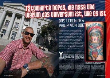 Philip von Doetinchem ist Experimental-Physiker an ... - Mark Benecke