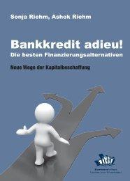 Leseprobe zum Titel: Bankkredit adieu! - Die Onleihe