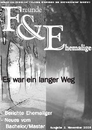 F&E 2/2006 - Mathematisches Seminar - Christian-Albrechts ...