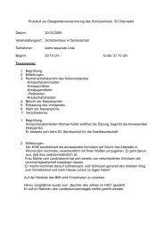 Protokoll zur Delegiertenversammlung am 20.03.09 in Sensbachtal ...