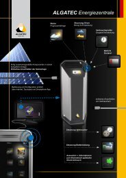 deutsch - ALGATEC Solar AG