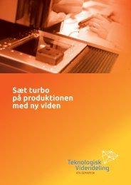 Sæt turbo på produktionen med ny viden - ATV-SEMAPP