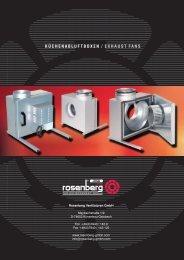 Küchenabluftboxen / Kitchen Exhaust Fans