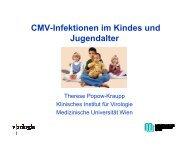 CMV- Infektionen im Kindes- und Jugendalter - Kinderabteilung LKH ...