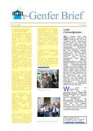 1. Ausgabe [pdf, 254 - Deutscher Internationaler Club in Genf (DICG)