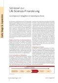 Das Life-Science-Finanzierungsnetzwerk capmatch medical stellt ... - Seite 7