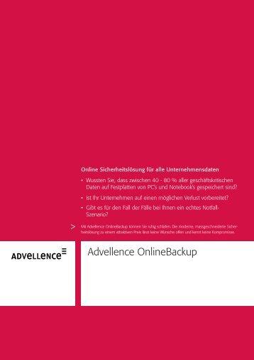 Advellence OnlineBackup