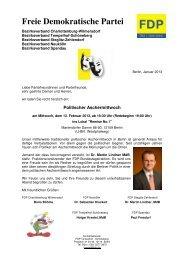 Freie Demokratische Partei - Holger Krestel