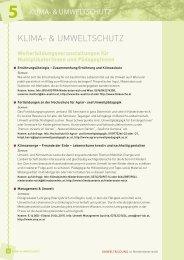 Klima- & UmweltschUtz - Umweltbildung NÖ