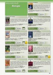 Filme Biologieunterricht - Der Lehrmittel Katalog mit Schulfilmen