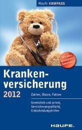 Krankenversicherung 2012 - Die Onleihe