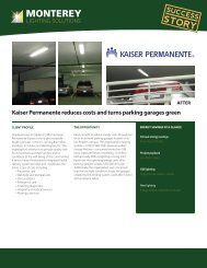 Kaiser Permanente reduces costs and turns parking garages green