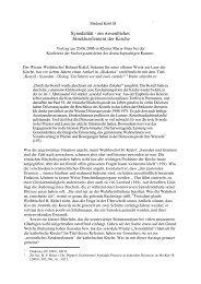 Synodalität - ein wesentliches Strukturelement der Kirche