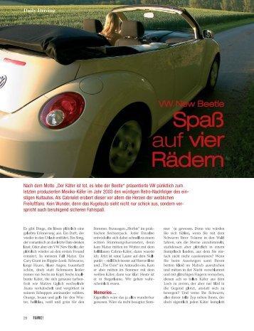 Ein etwas anderer Autotest für Fame! - Lilian Breuch