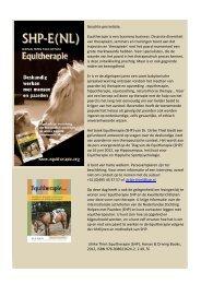 Press release Boek Equitherapie