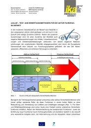 und Bewertungsmethoden für die aktive Fahrzeugsicherheit