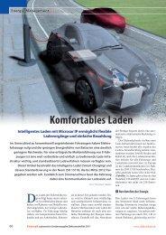 Komfortables Laden von Elektrofahrzeugen - Vector