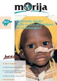 Aidskranke Kinder: Sollte es sich nicht lohnen, sie zu ... - Morija
