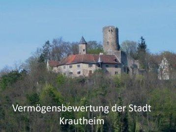 Vermögensbewertung der Stadt Krautheim - Startseite - Umstellung ...