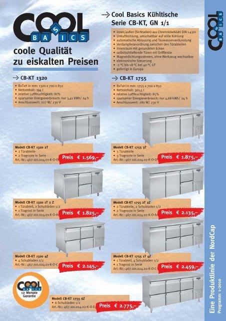 COOL Basics - coole Qualität zu eiskalten Preisen ... - Gastro Arena