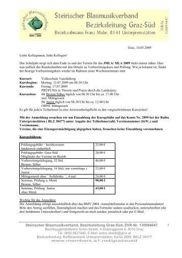 zu Detailinformationen - St.BV-Graz-Süd