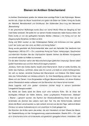 Bienen im Antiken Griechenland - Bienenzuchtverein Sulzbach ...