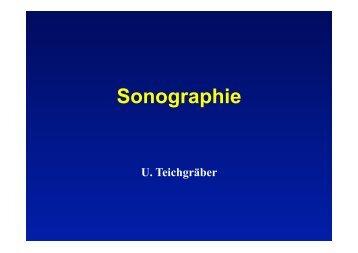 Sonographie - Klinik für Nuklearmedizin