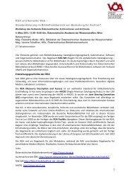 RDA und Semantic Web – Standardisierung im Bibliotheksbereich ...