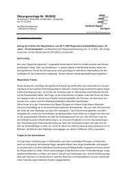 Sitzungsvorlage Nr. 99/2002 - Verband Region Stuttgart