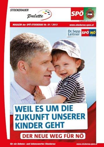 STOCKERAUER Palette - SPÖ Stockerau