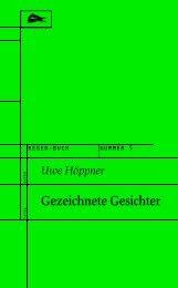 Uwe Höppner: Gezeichnete Gesichter - RegenBuch Leipzig