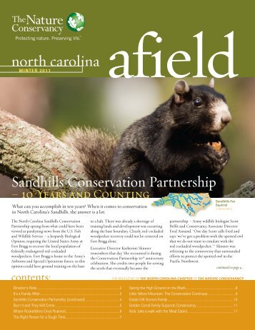 Nature Conservancy Afield - NC Dept. of Environment and Natural ...