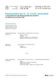 Streichquartette des 18., 19. und 20. Jahrhunderts - Musik ...