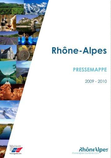 rhône-alpes, eine region im herzen europas