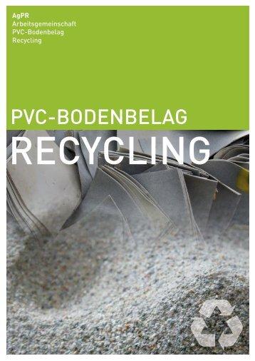 PVC-BODENBELAG - AgPR