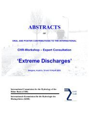 ABSTRACTS 'Extreme Discharges' - CHR-KHR